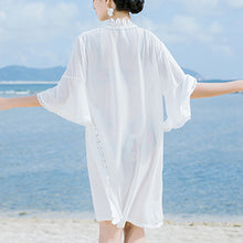 Chiffon Cardigan Loose Thin Beach Blouse - lolabuy