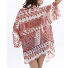 Vacation Beach Chiffon Blouse - lolabuy