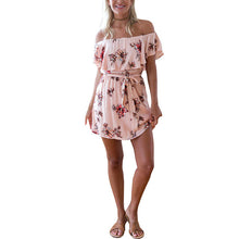 Casual Floral Printed Vacation Dress - lolabuy