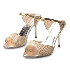 Fashion Fish Mouth Sandals Ladies Shoes - lolabuy