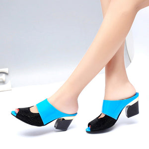 Elegant Fish Mouth Ladies Sandals Shoes - lolabuy