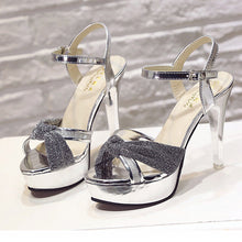 Lovely Bow-Knot Peep Toe Sandals Ladies Shoes - lolabuy