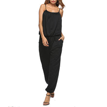 New Loose European And American Ladies Suspenders Jumpsuit - lolabuy
