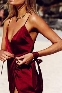 Summer Beach Sexy Sleeveless Sling Dress - lolabuy
