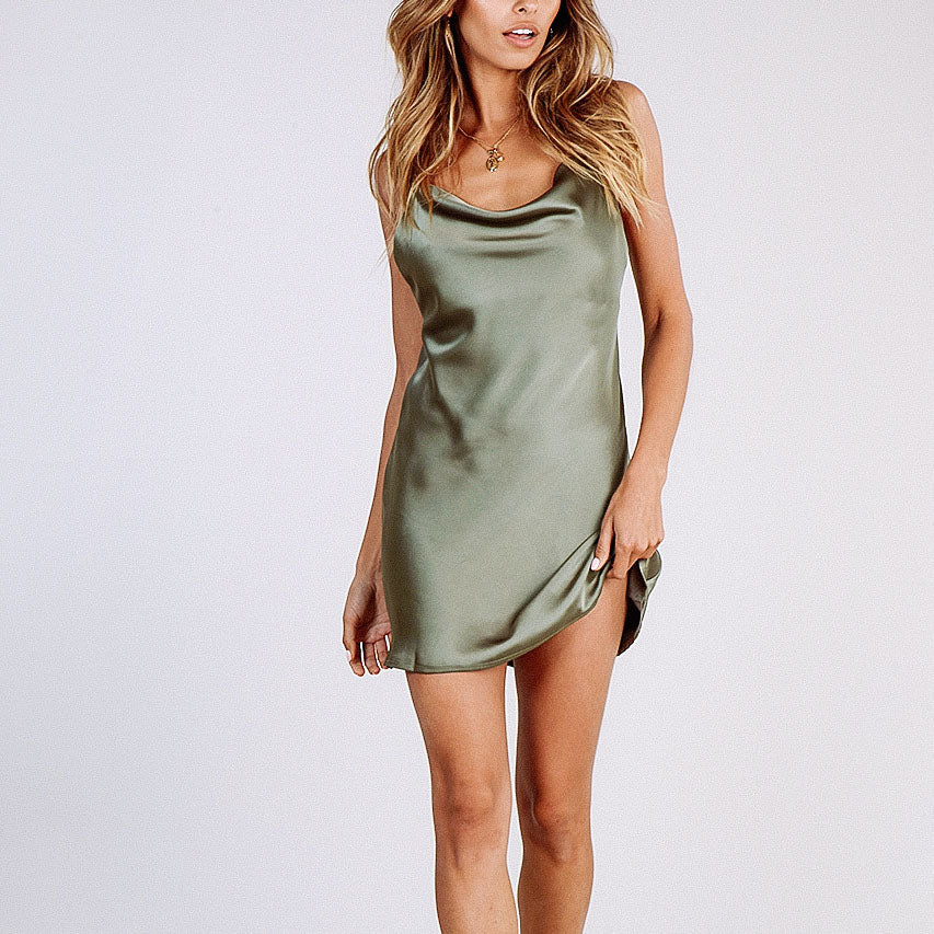 New Summer Pure Chest Strap Light Dress - lolabuy