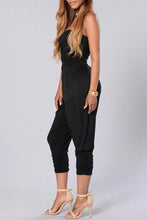 Sexy Off Shoulder Sleeveless Jumpsuit - lolabuy
