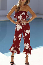 Sexy Fashion Printed Backless Jumpsuit - lolabuy