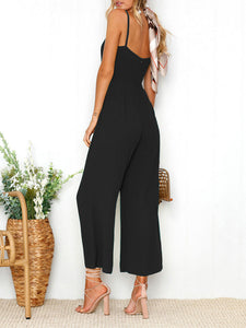 Sexy Fashion Sling Jumpsuit