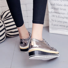 Casual Pure Color Flat Shoes - lolabuy