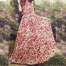 Fresh Floral Bohemian Vacation Dress - lolabuy