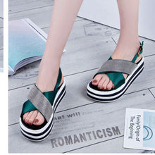 Casual Open Toe Thick Bottom Rome Sandal