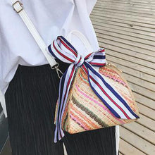 Fashion Straw Beach One Shoulder Hand Lantern Bag - lolabuy