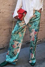 Fashion Floral Loose Casual Long Pants