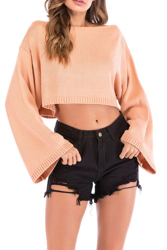 Ultra-Short Sexy Navel Sweater