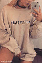 Fashion Youth Casual Loose Print Long Sleeve Long Hoodie Top - lolabuy