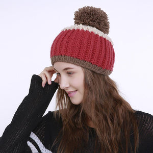 Fashion Winter Colorful Handmade Hat - lolabuy