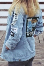 Youth Fashion Chic Casual Long Sleeve Denim Cardigan - lolabuy