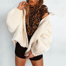 Elegant Fashion Casual Woolen Thermal Long Sleeve Cardigan - lolabuy