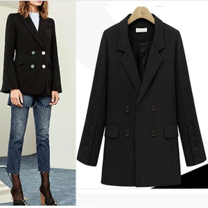 Fashion Women's Wool Coat Long Tops - lolabuy