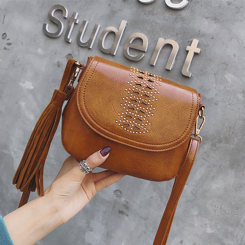 Casual Fashion Sweet Leather One Shoulder Small Bag - lolabuy
