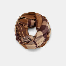 Fashion Casual Thermal Plaid Rectangle Scarf - lolabuy