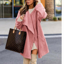 Fashion Plain Long Sleeve Loose Cardigans Outerwear - lolabuy