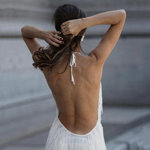 Sexy Backless Sleeveless Maxi Dress
