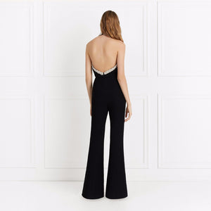 Sleeveless Sexy Wide Leg Jumpsuit - lolabuy