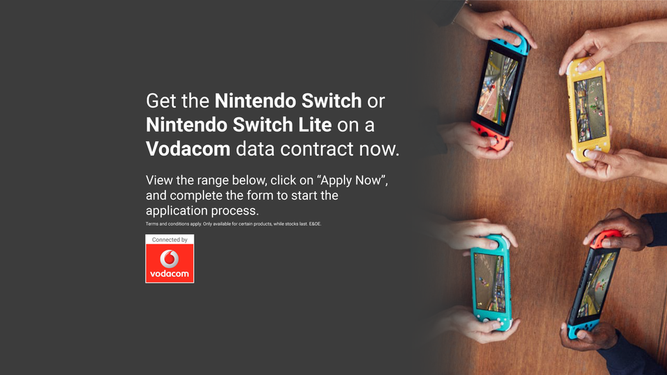 Vodacom Contract Nintendo Online Store South Africa