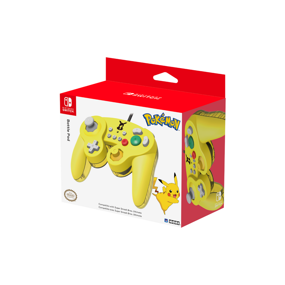 Pikachu Battle Pad for Nintendo Switch (HORI)