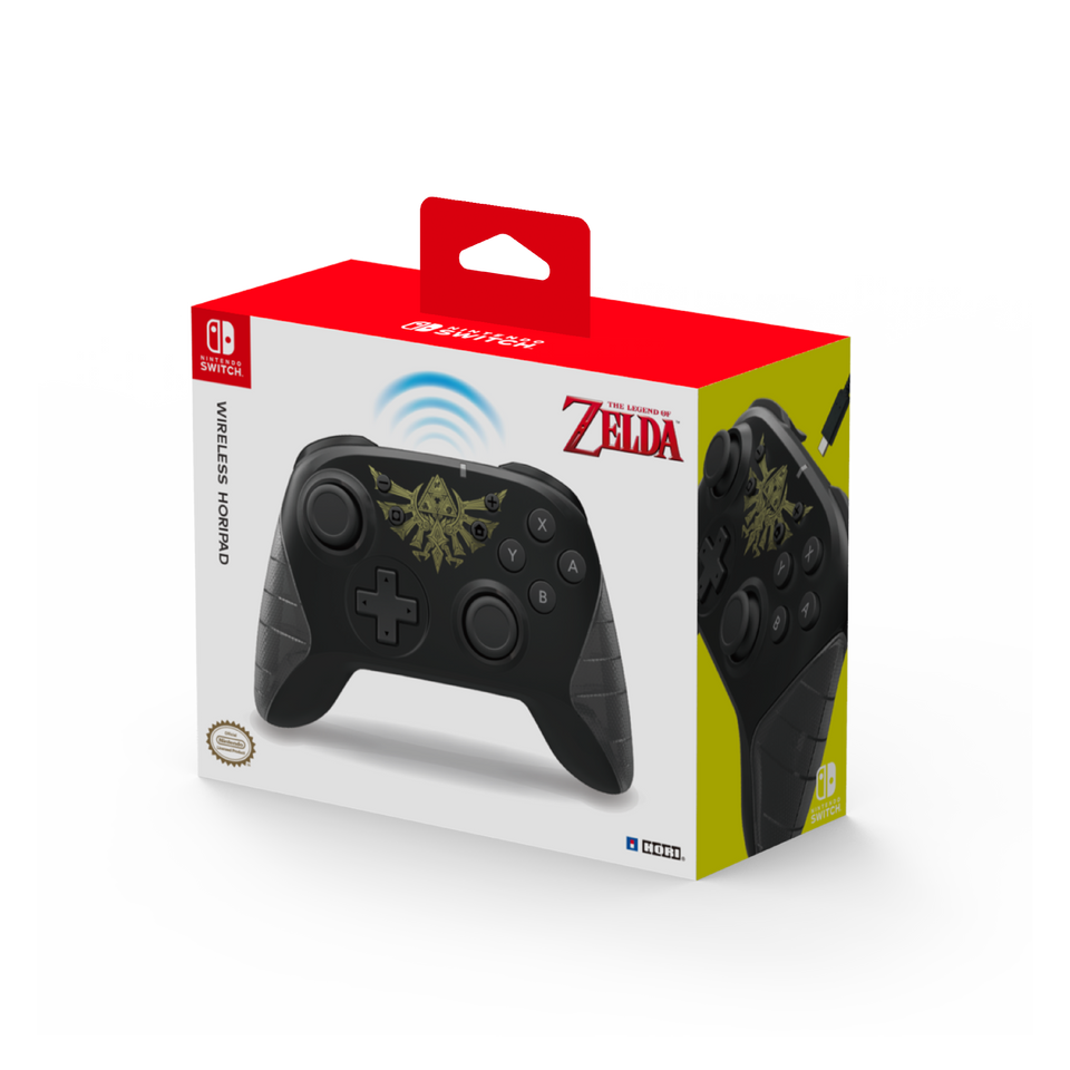 The Legend of Zelda Wireless HORIPAD for Nintendo Switch (HORI)