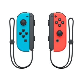 Joy-Con Pair Neon Red and Neon Blue