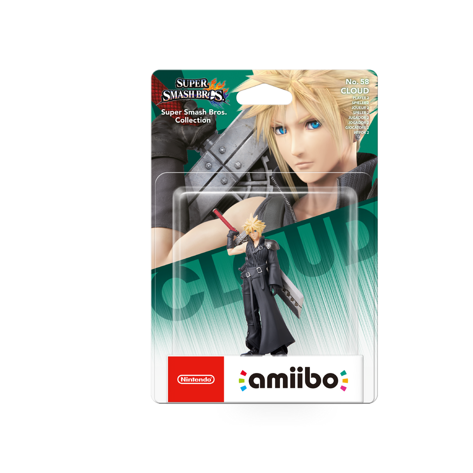 Amiibo Cloud Advent Children Super Smash Bros. Collection