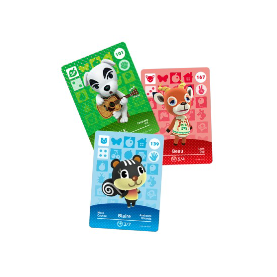 Animal Crossing Amiibo Cards Series 2 cards