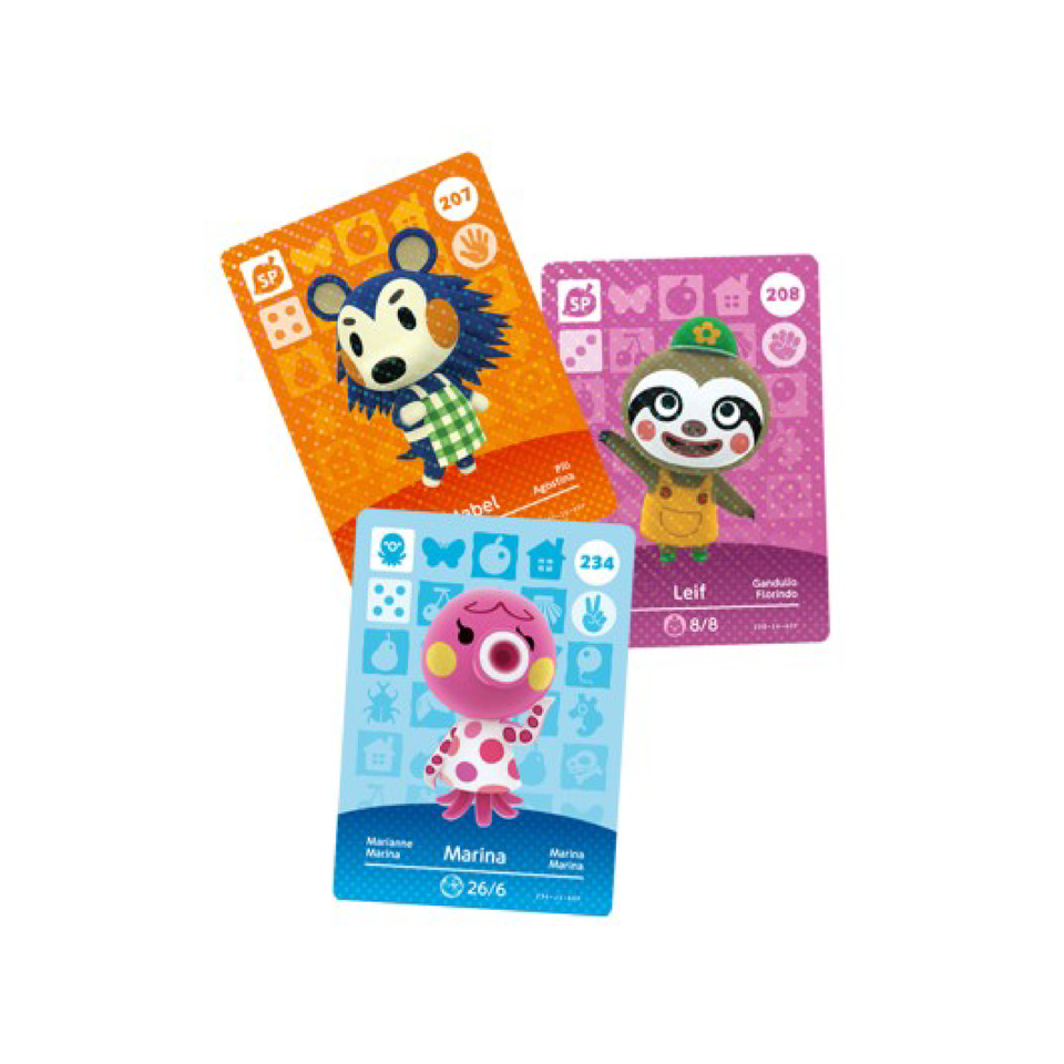 Animal Crossing Amiibo Cards Series 3 cards