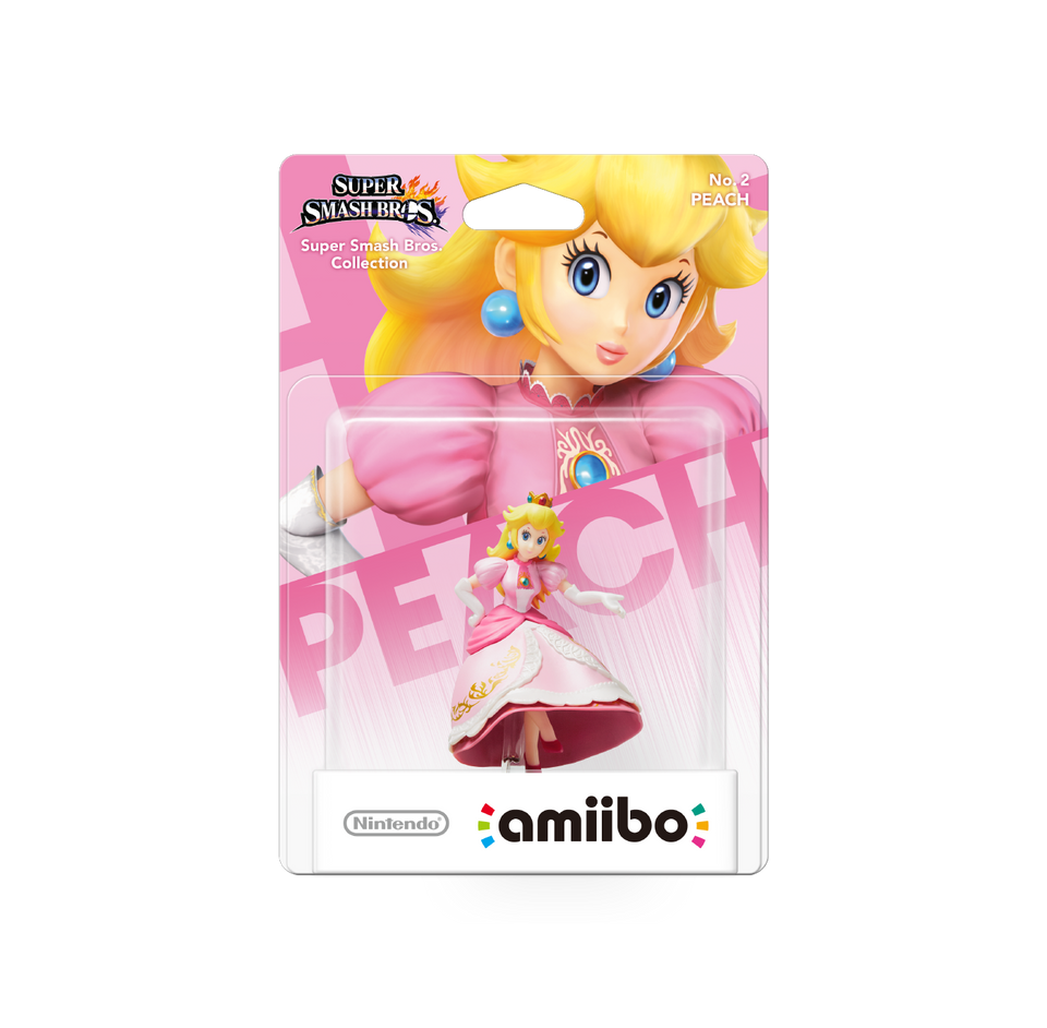 Amiibo SSB Collection Peach 2