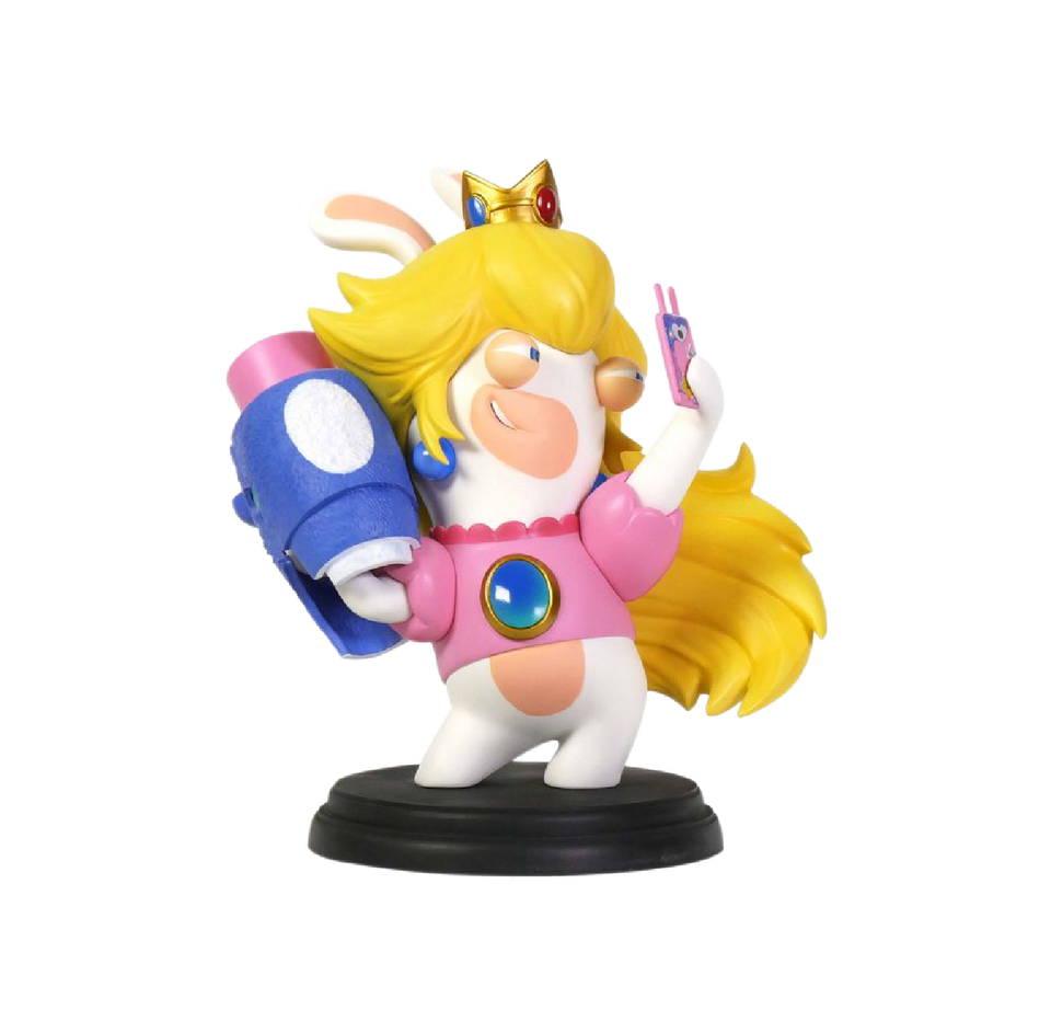 "Rabbid Peach 3"" Figurine"