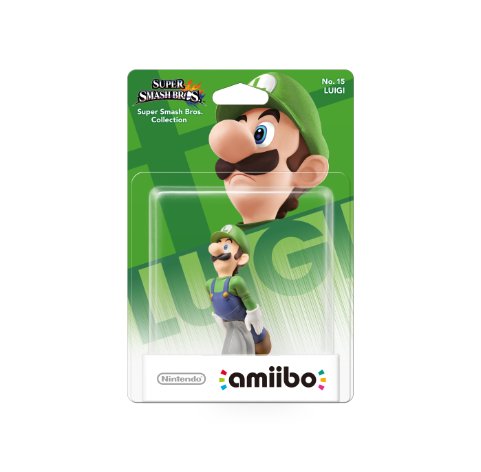 Amiibo SSB Collection Luigi 15