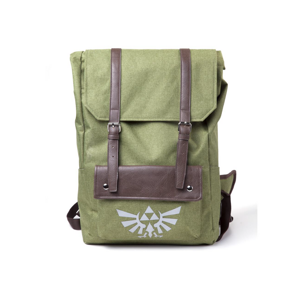 The Legend of Zelda: Link's Hooded Canvas Backpack