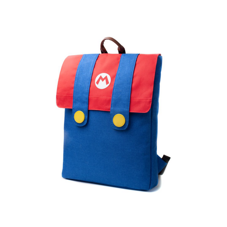 Super Mario Denim Backpack