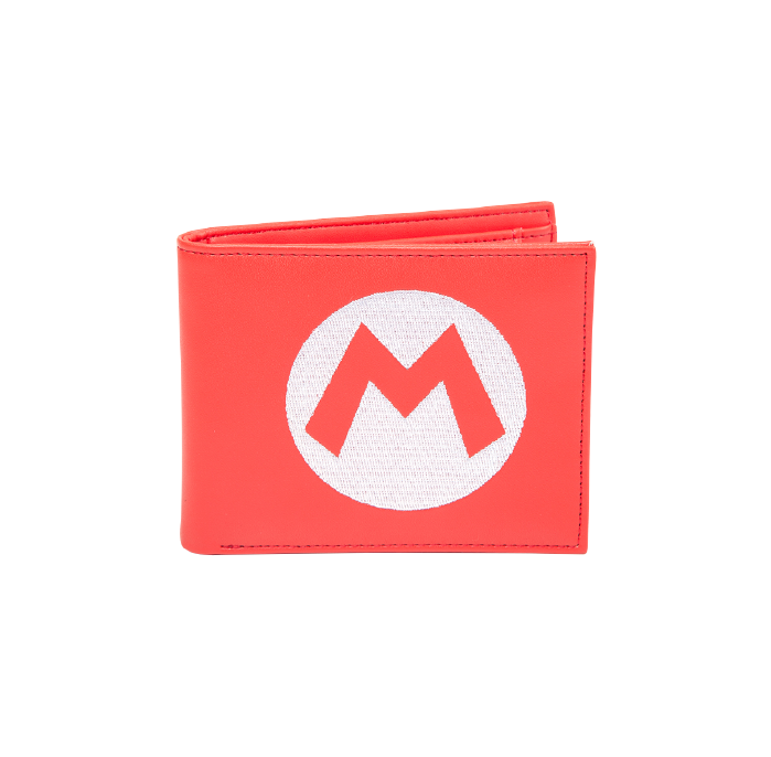 Nintendo Super Mario Red Wallet