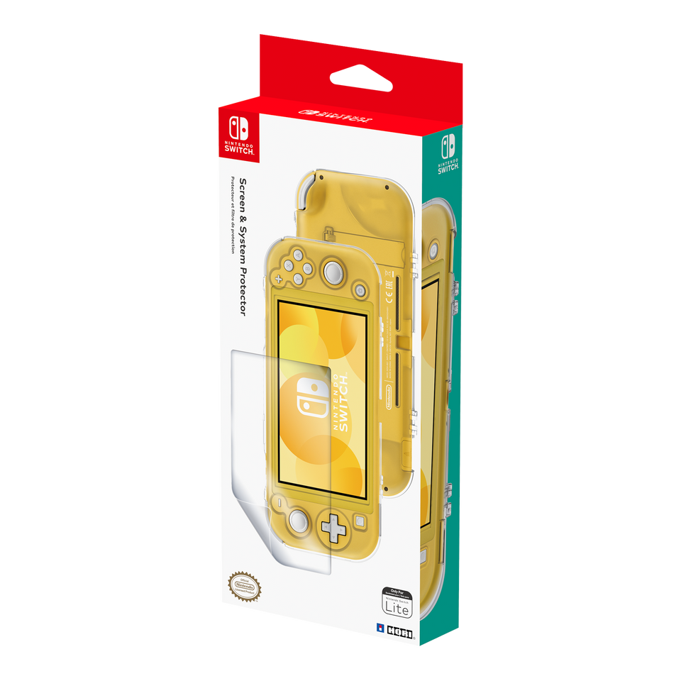 Screen and System Protector for Nintendo Switch Lite (HORI)