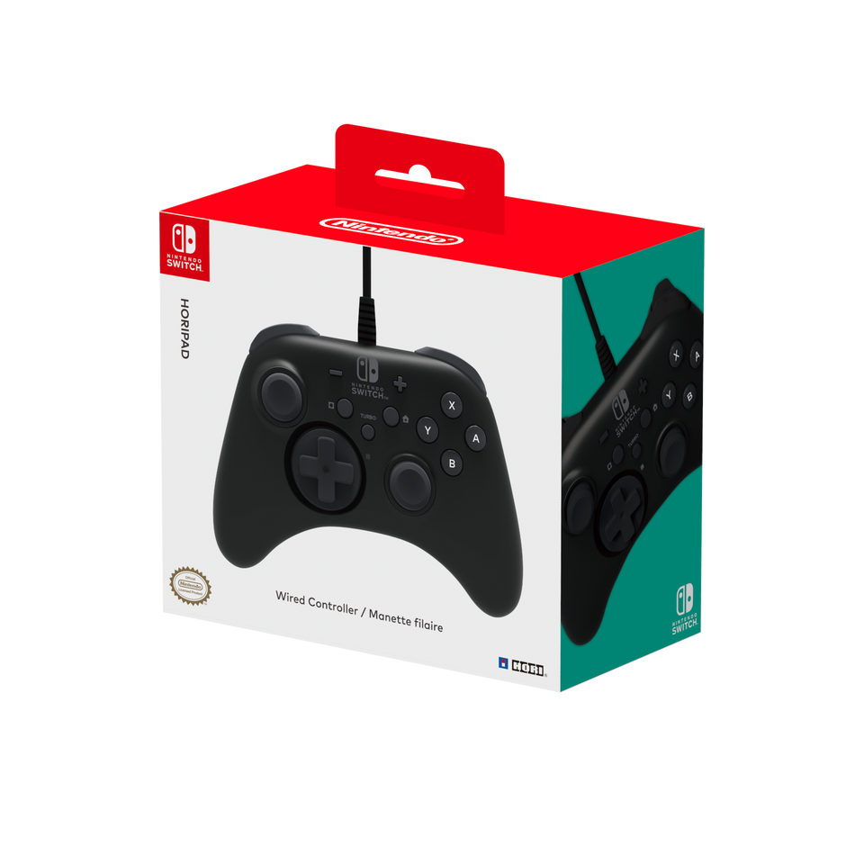 HORIPAD for Nintendo Switch (Black)