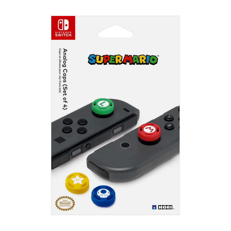 Super Mario Analog Caps (HORI)