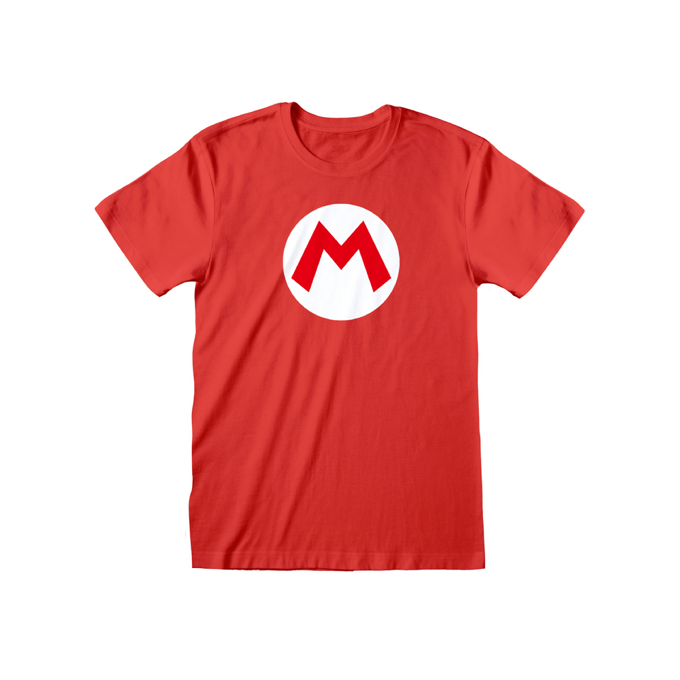 Mario Badge Men's T-shirt