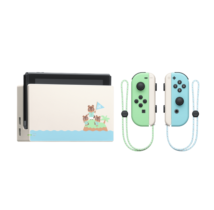 Nintendo Switch Bundle - Animal Crossing: New Horizons Special Edition