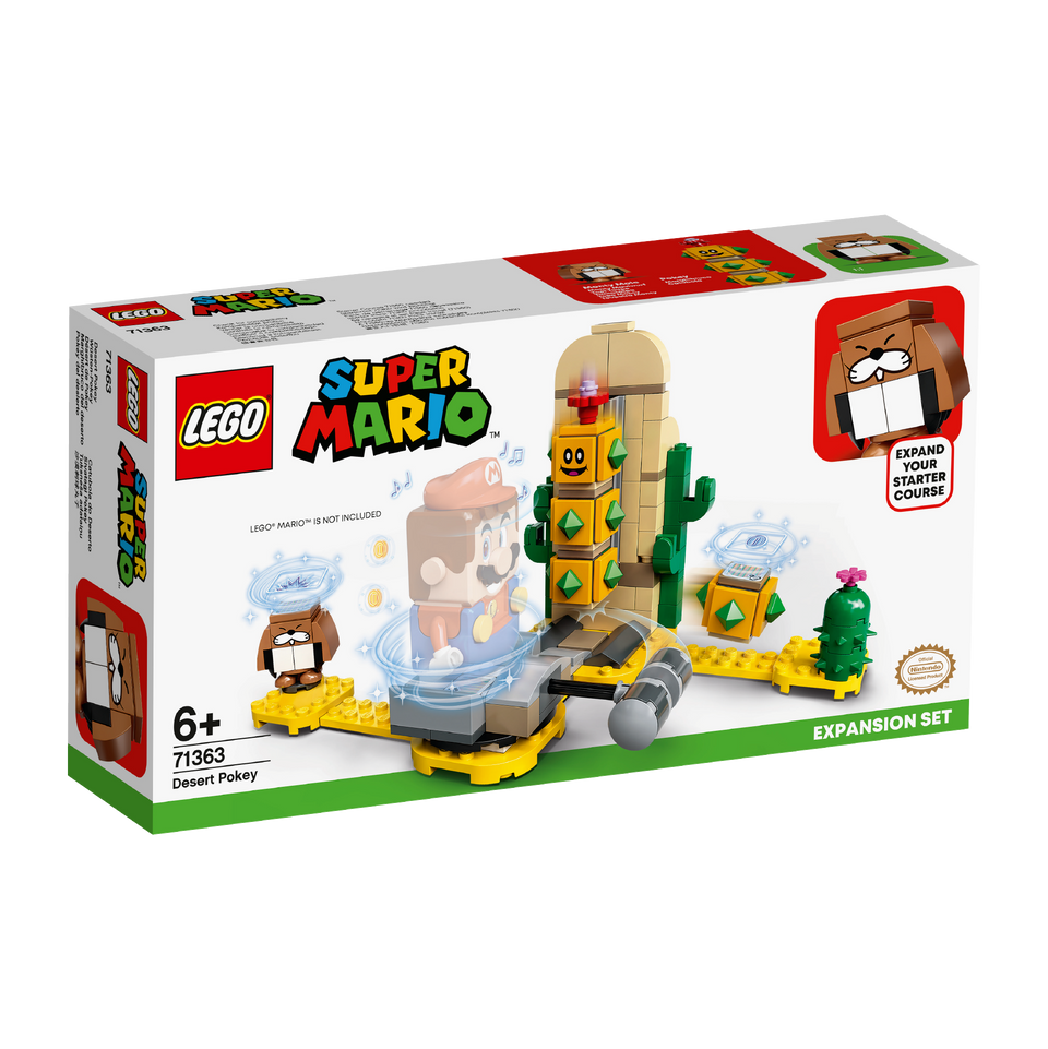 LEGO® Super Mario™ Desert Pokey Expansion Set