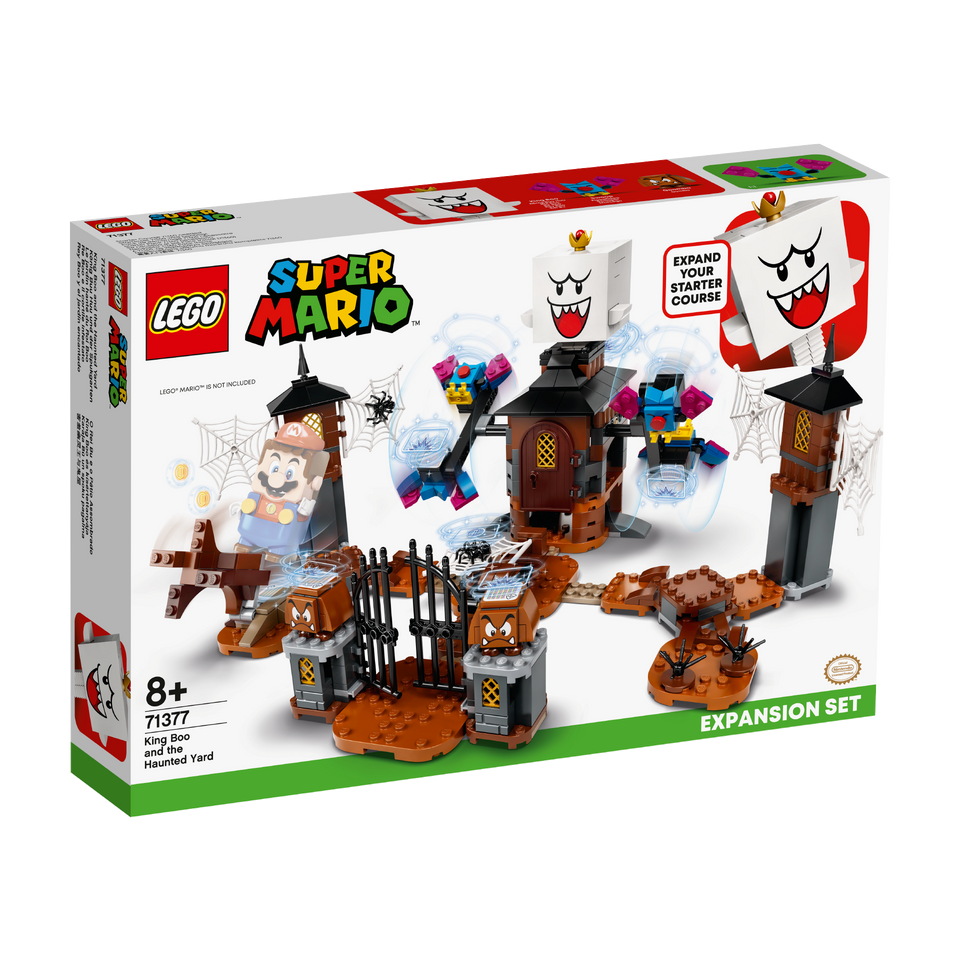 LEGO® Super Mario™ King Boo and the Haunted Yard