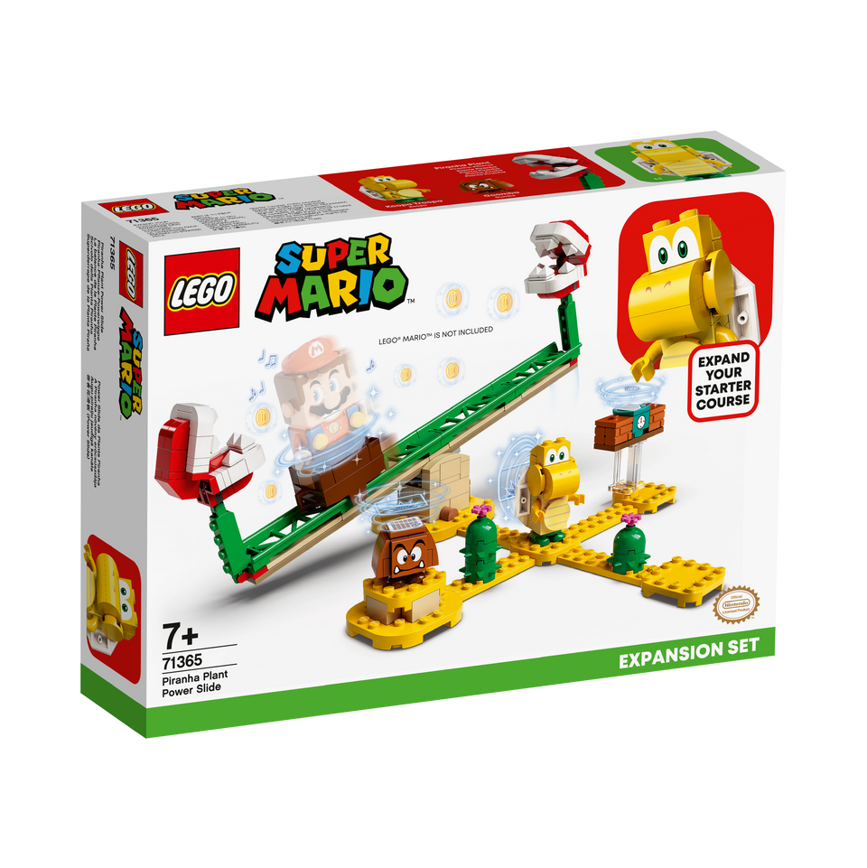 LEGO® Super Mario™ Piranha Plant Power Slide