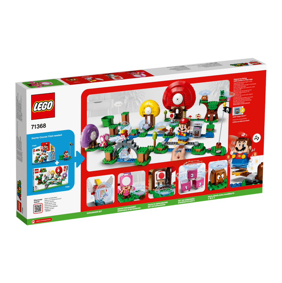 LEGO® Super Mario™ Toad's Treasure Hunt